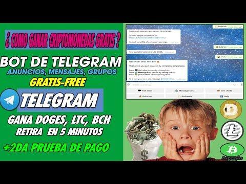 (increible)-aprende-a-ganar-criptomonedas-gratis-con-telegram-|-ltc,-doges,-bch-+-2da-prueba-de-pago