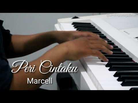Peri Cintaku - Marcell | Short Piano Cover by Andre Panggabean