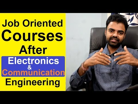 Best Job Oriented Courses For Electronics And Communication Engineers(ECE) In India Hindi