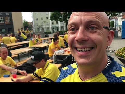 Brøndby-fan i Horsens