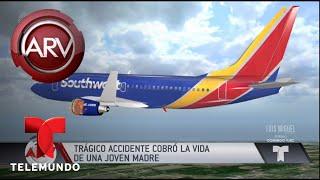 Revelan identidad de quien murió en accidente de avión | Al Rojo Vivo | Telemundo