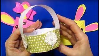 Супер_Легко: 3 Пасхальные Поделки из Бумаги Своими Руками/Подарка Сделать Маме Бабушке Воспитателю