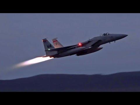 F-15 Eagles Scrambling