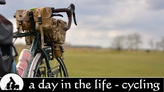 day in the life: bicycle touring documentary 2016 ✔