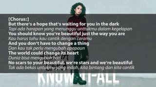 Video Alessia Cara - Scars To Your Beautiful Lyric and Terjemahan download MP3, 3GP, MP4, WEBM, AVI, FLV Mei 2018