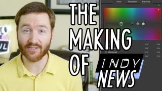 how to produce a web news show making of indy news
