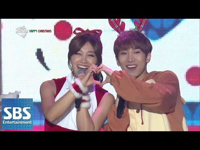 에이핑크 X 비투비 - 울어도 돼 + Mr. Ru @2014 SBS 가요대전 SUPER5 2부