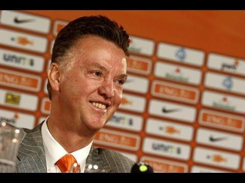 Persconferentie bondscoach Louis van Gaal - KNVB (pc in zijn geheel)
