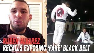 Ruben Alvarez Tells the Full Story of Exposing the Fake Black Belt