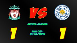 Download Video Liverpool vs Leicester City 1-1 Full Highlights & All Goals 2019 - Premier League MP3 3GP MP4