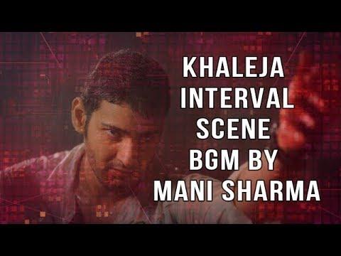 Khaleja Interval Scene BGM By Manisharma