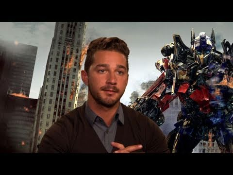 'Transformers: Dark of the Moon' Cast Interviews - YouTube