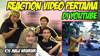 REACTION VIDEO JADUL DI RICIS OFFICIAL ... Icis habis diledekin sama yang lain wkwk