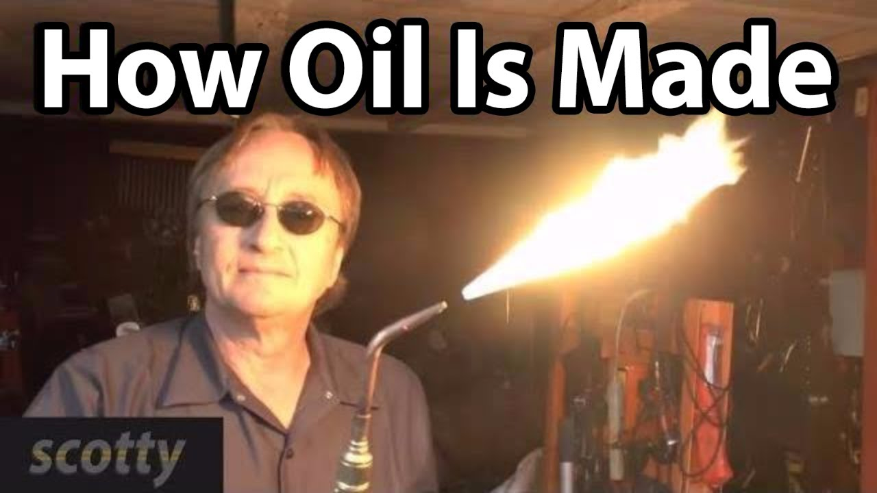 Engine Oil Made From Natural Gas