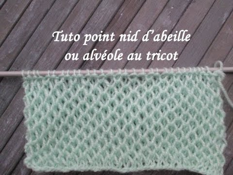 tricot point alveole