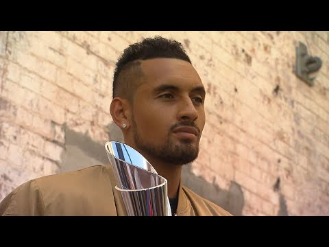 BI18 Champion Nick Kyrgios | Brisbane International 2018