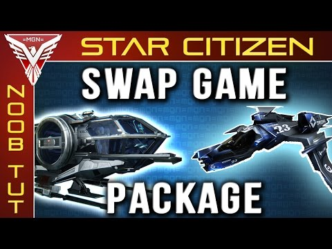 Star Citizen - How to swap an Aurora for a Mustang --/-- (change starter package)!