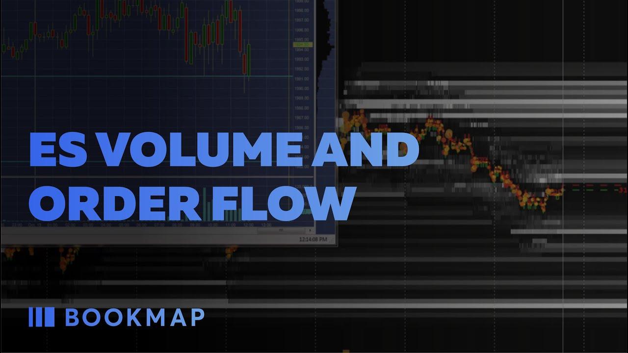 ES Volume and Order Flow