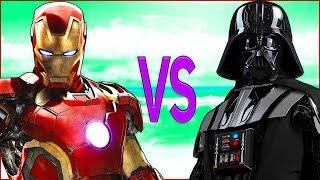 STAR WARS VS IRON MAN СУПЕР РЭП БИТВА Звездные Войны фильм game ПРОТИВ Железный Человек Мстители