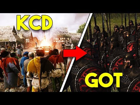 Game Of Thrones In Kingdom Come Deliverance! - KCD Mod In The Works!