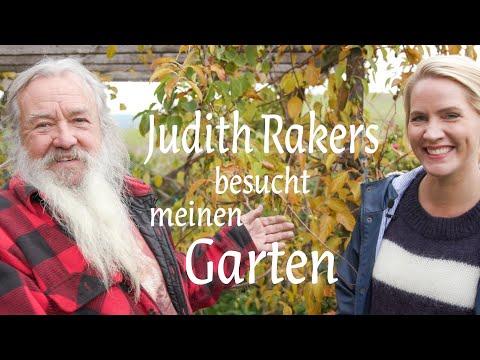 Judith Rakers besucht meinen Garten