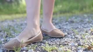 be1f81f5b68 Bailarinas Niña Mujer de Serraje Trenzadas - Manoletinas y Slippers Online  en Pisamonas by Pisamonas