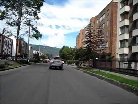 BOGOTA, RECORRIDO POR LA AVENIDA PEPE SIERRA . CALLE 116