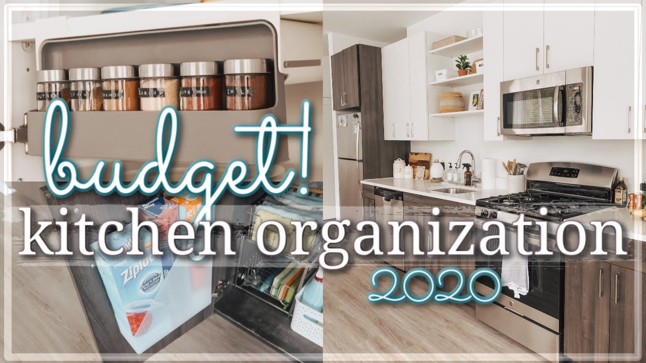 SMALL KITCHEN ORGANIZATION ON A BUDGET 12 / RENTER FRIENDLY KITCHEN  ORGANIZATION HACKS & IDEAS