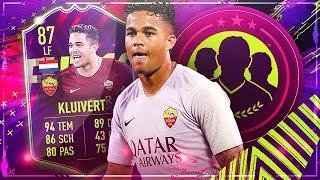 FIFA 19: KLUIVERT FUTURE STAR SQUAD BUILDER BATTLE VS TISISCHUBECH