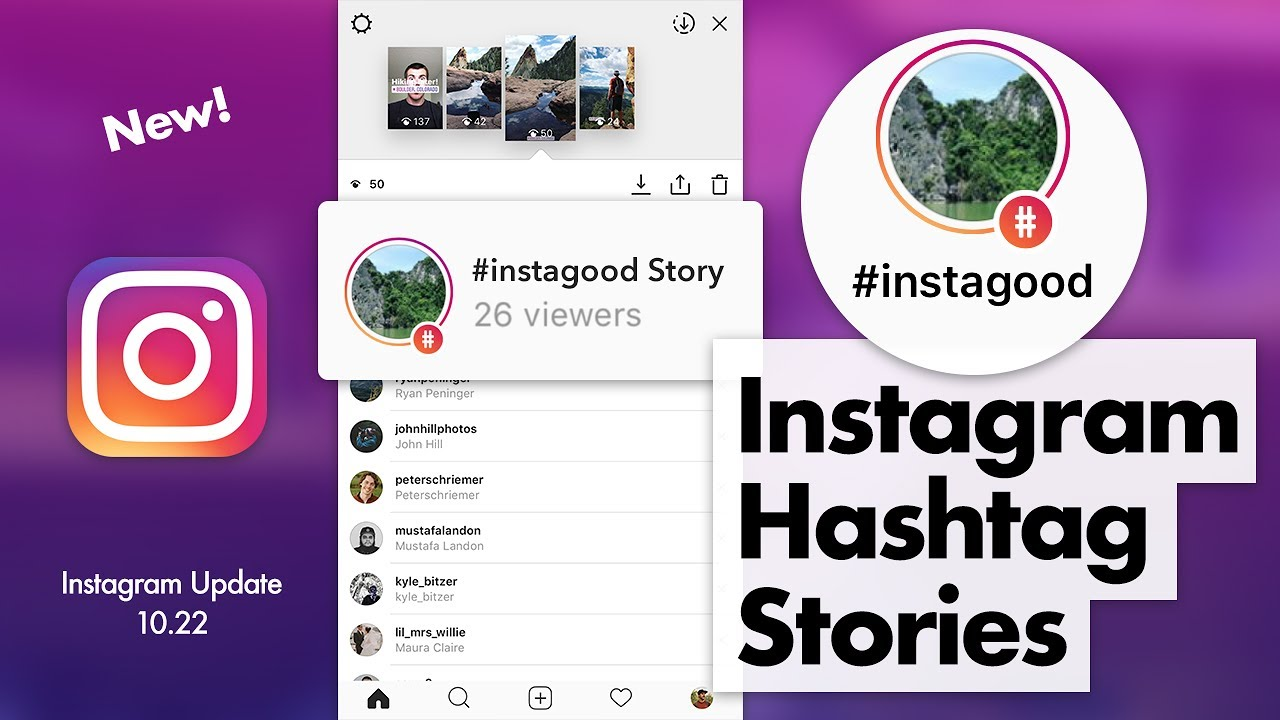 How to Use Instagram Hashtag Stories