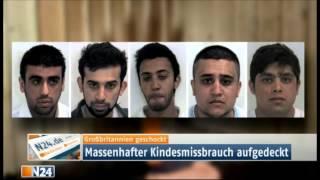Moslems vergewaltigen 1400 Kinder in einer Stadt