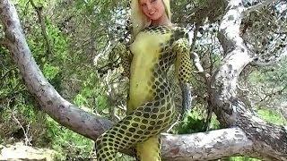 body painting. lizard-leopard. part2. photo shoot.