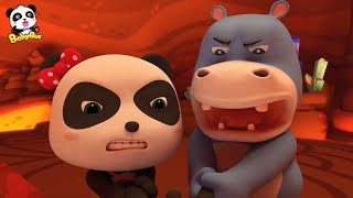 Rescue Mr. Dao | Baby Panda's Magic Tie | Magical Chinese Characters | BabyBus Cartoon