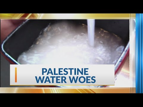 Palestine water burn out