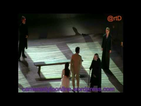 THE WINTER'S TALE WITH ETHAN HAWKE & REBECCA HALL IN  EPIDAURUS 21 8 2009