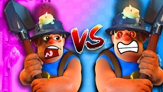 MINER vs MINER! • Clash Royale Challenge!