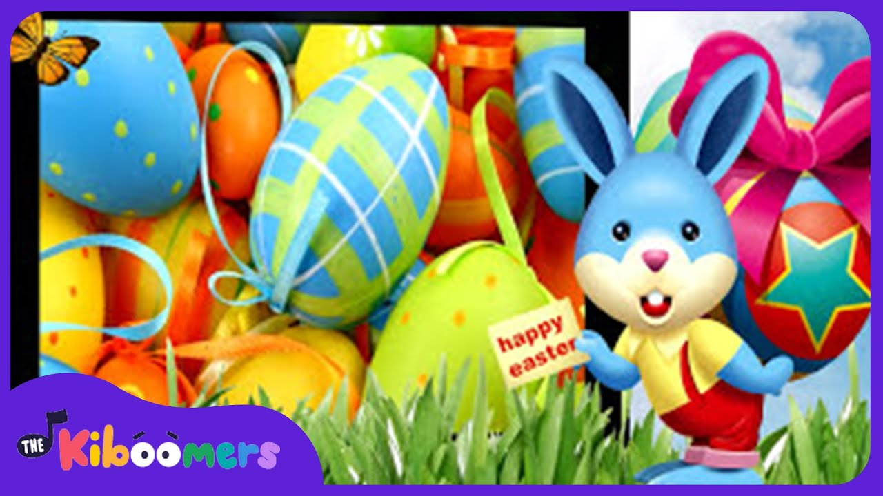 Easter Bunny Song | Kids Song | Easter Songs | The Kiboomers - YouTube
