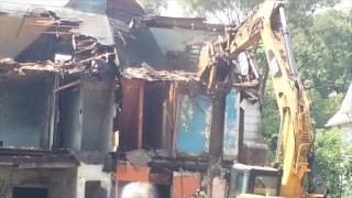 Demo Work Takes Down Camden Home Aug