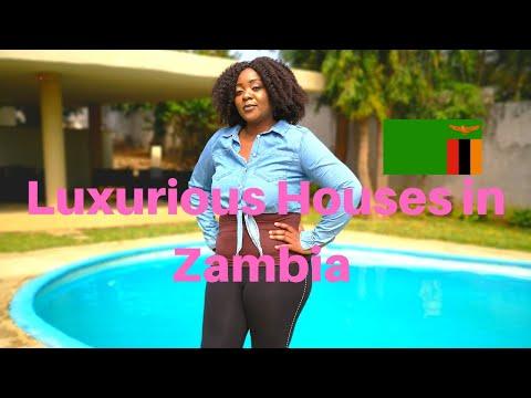 OMG LUXURIOUS HOUSES IN LUSAKA ZAMBIA
