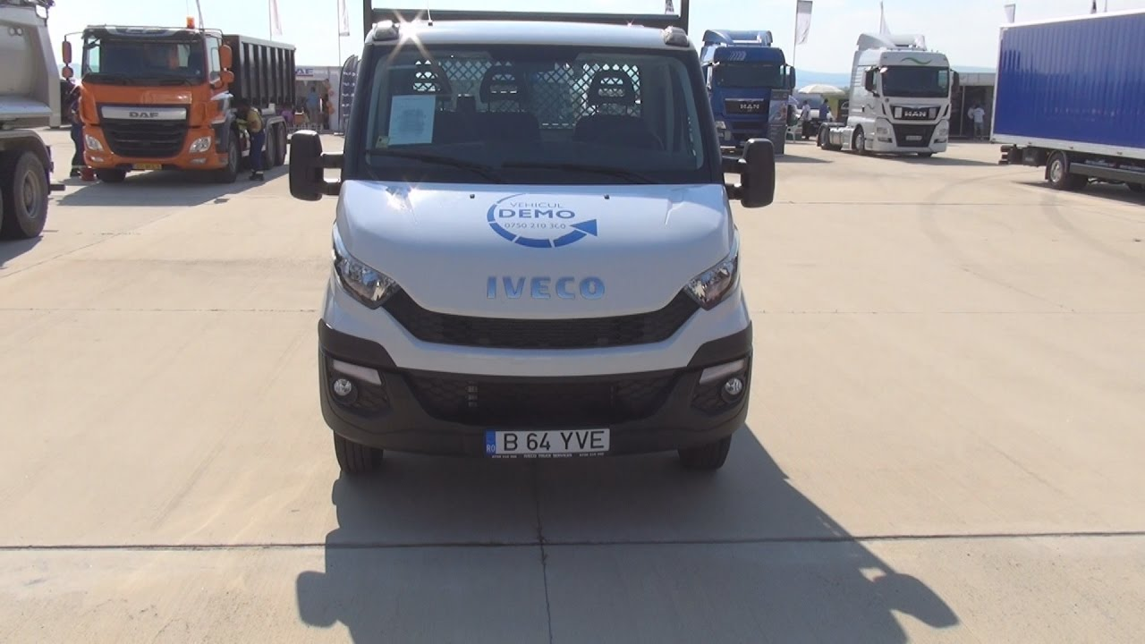 Iveco Daily 35C13 Cab Version (2015) Exterior and Interior ...