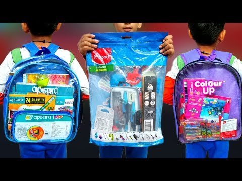 Download 3 Cheapest Stationary Kit Collection, Apsara, Cello & Maped