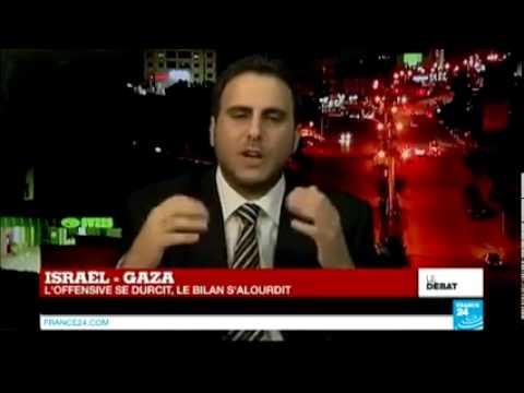 Un diplomate Palestinien met une correction à une journaliste de France