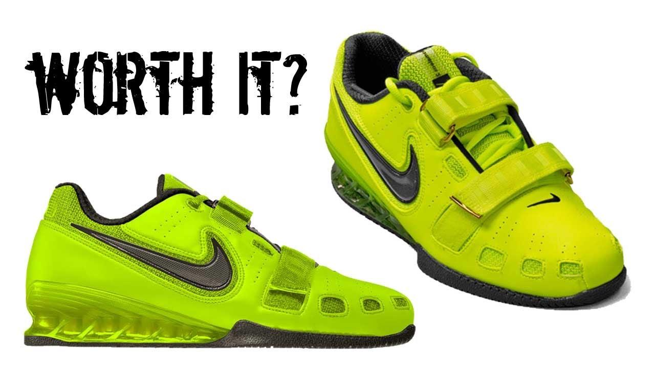 Do I Recommend The Nike Romaleos V2 Review - YouTube 3c1a158da