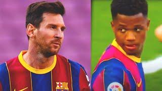 АНСУ ФАТИ не отдал пас на МЕССИ, и вот ЧТО СДЕЛАЛ Лионель! Класико | Барселона - Реал Мадрид