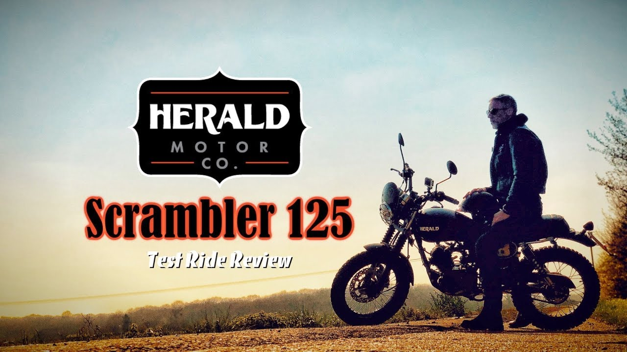 Herald Motor Company - Scrambler 125 - Test Ride Review