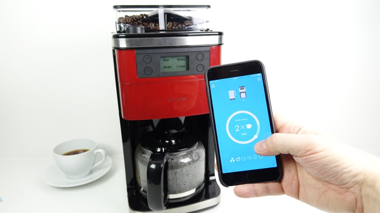 The Wifi Coffee Machine Review Youtube