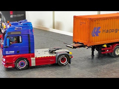 MAN RC MODEL TRUCK IN MOTION AMAZING DETAIL MODEL IN ACTION