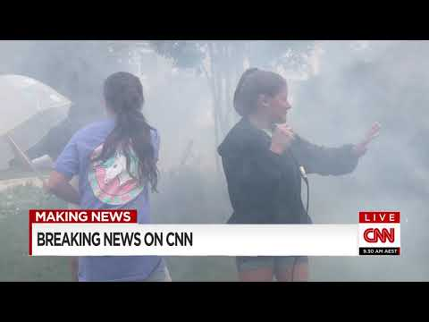 Breaking News - Irma Hits Raleigh NC