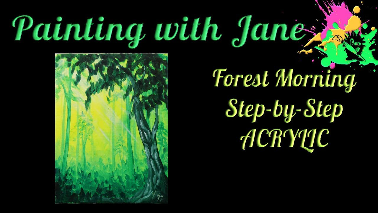 Step By Step Acrylic Painting On Canvas For Beginners