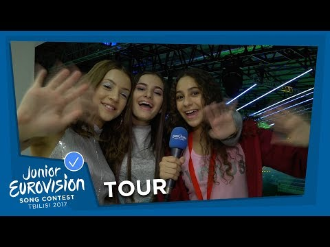 TAKE A TOUR THROUGH THE VENUE WITH NICOLE 🇨🇾 HELENA 🇧🇾 AND ISABELLA 🇦🇺